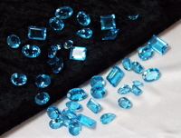Topaz Faceted Gemstone Parcel
