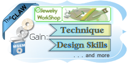 Faceted Gemstone Jewelry Workplace Image